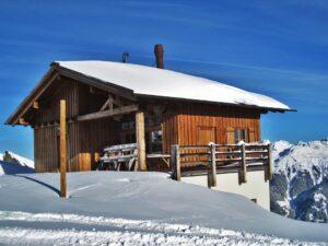 Skihütte in Österreich